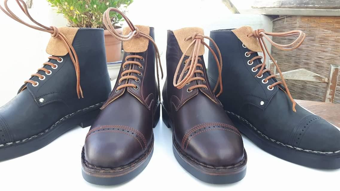 Produzione scarpe da passeggio Corrias 1940
