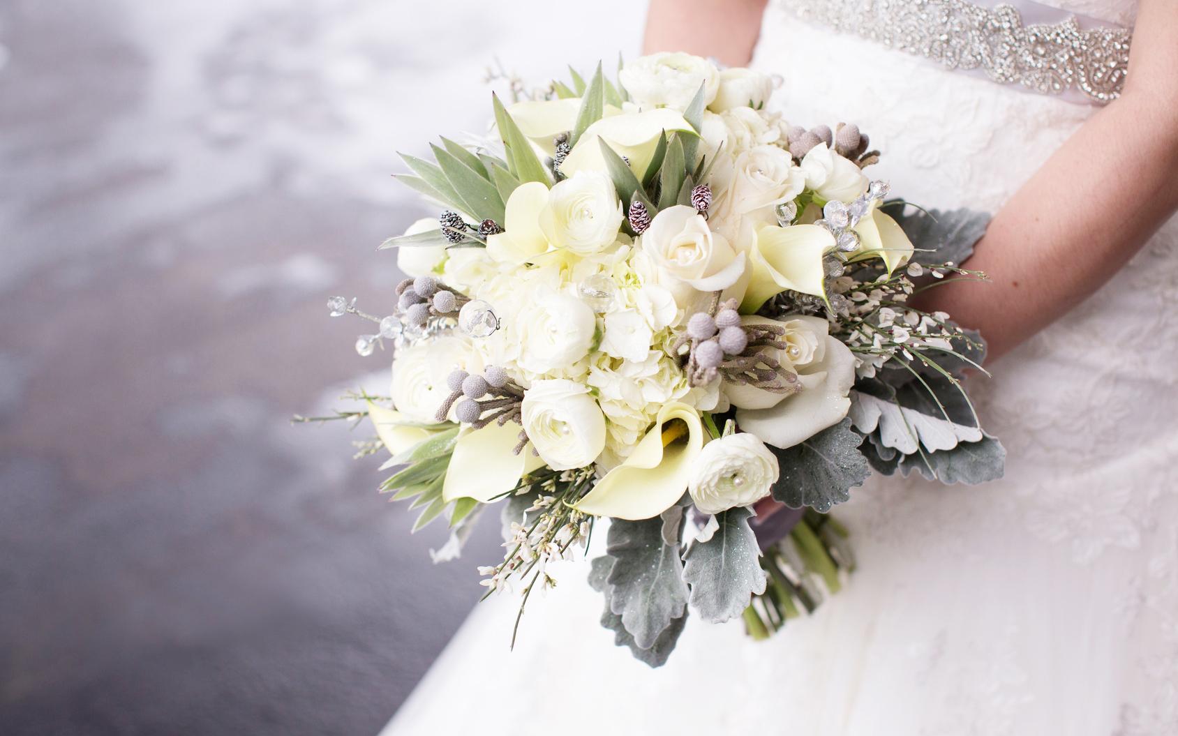 Clorophilla Bouquet per la sposa