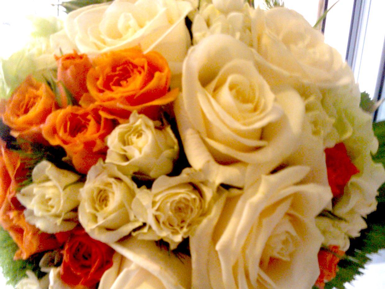 Bouquet rose Clorophilla