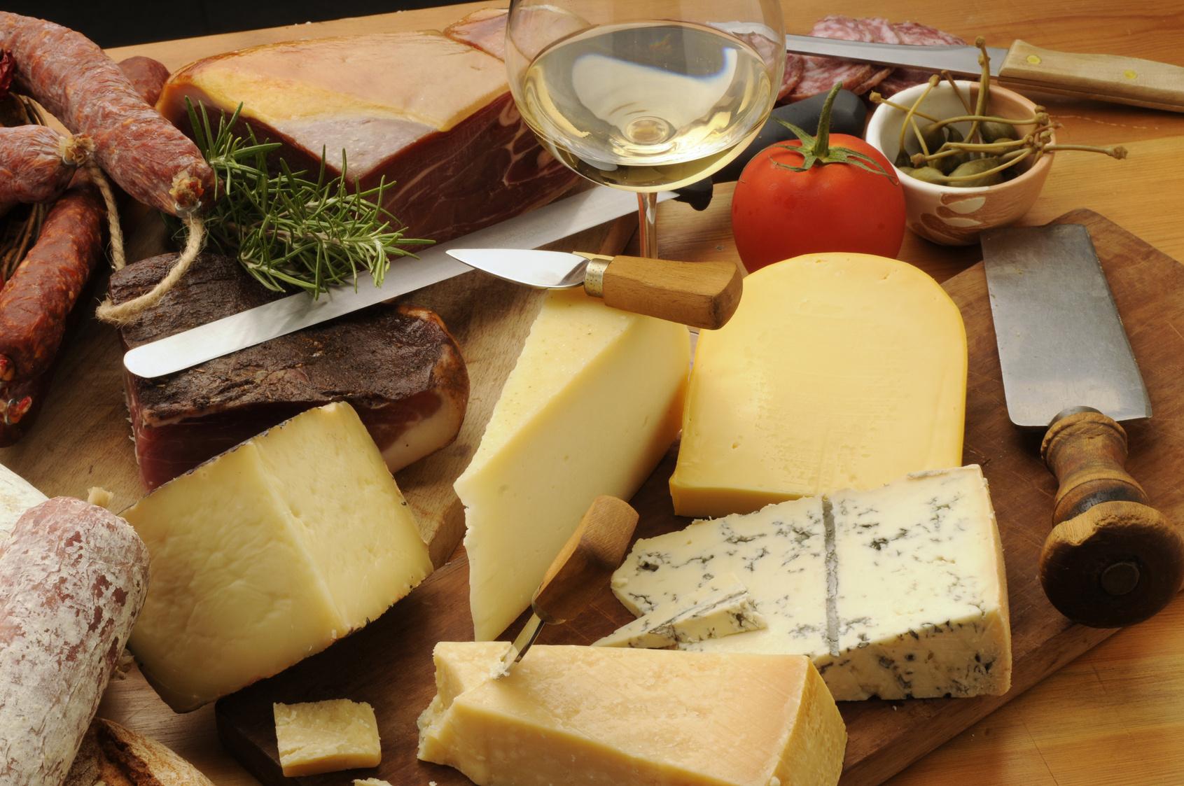 Trattoria Gambugliano formaggi tipici vicentini