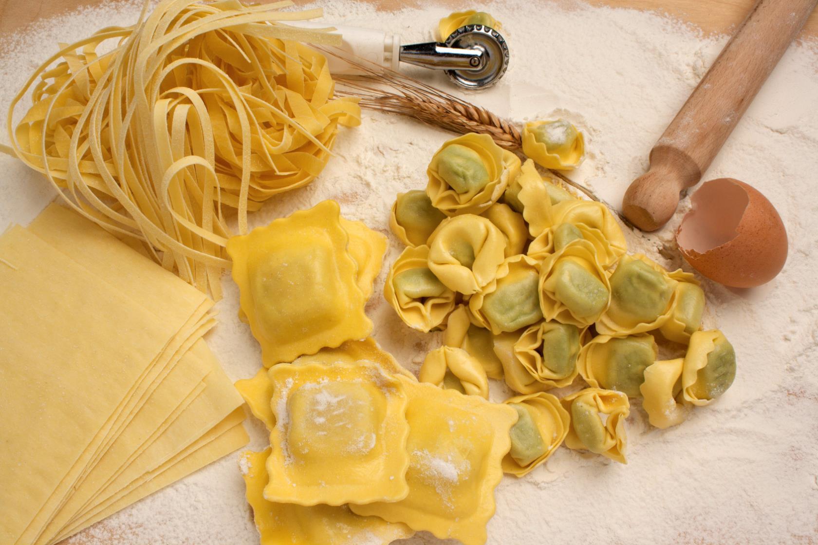 Pasta fresca fatta in casa Trattoria Carlotto