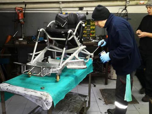 Interventi sulla carrozzeria Olivieri Autofficina Elettrauto