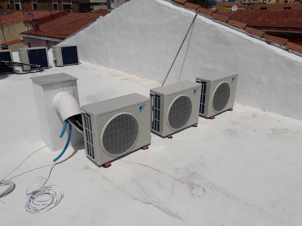 Realizzazione impianti di riscaldamento e condizionamento MC Impianti