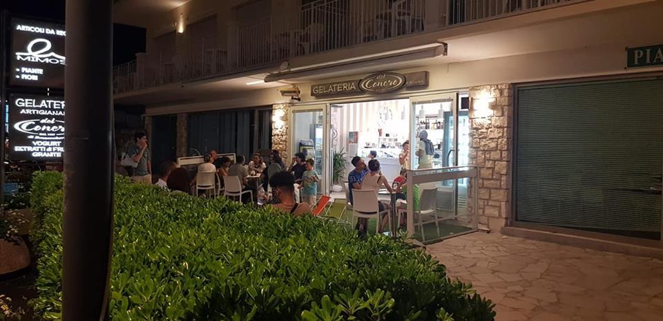 Gelateria del Conero eventi, aperitivi e cocktail