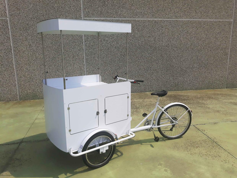 Cargo bike per la pubblicità