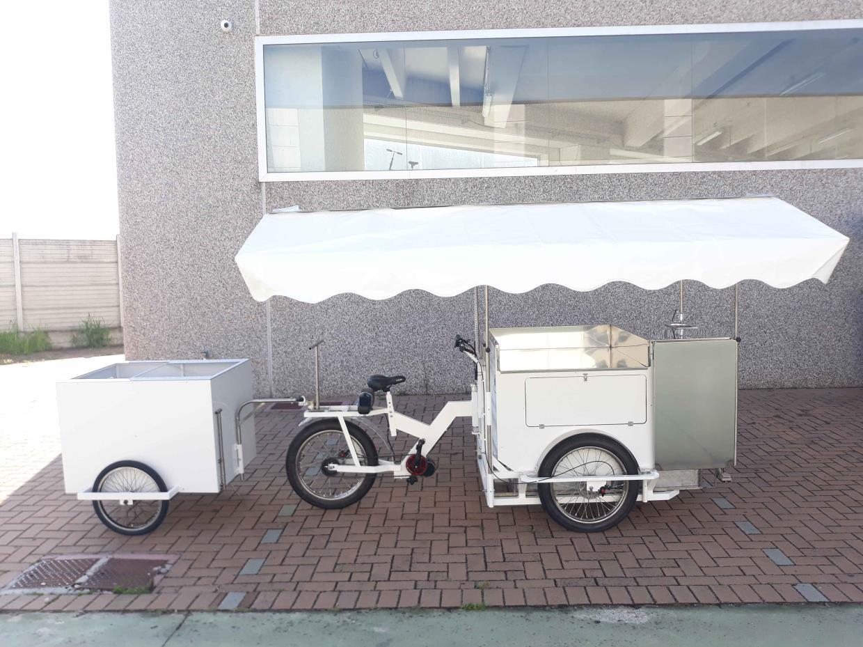 Cargo bike pizzeria