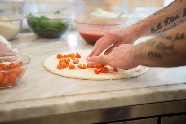 Pizza senza glutine Pizzeria Vesi Spaccanapoli