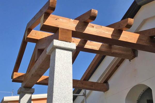 tetti in legno Nuoro