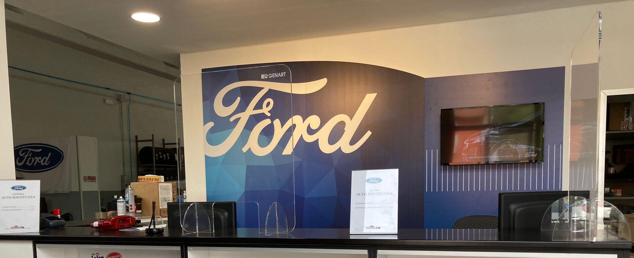 Autofficina autorizzata Ford Interauto