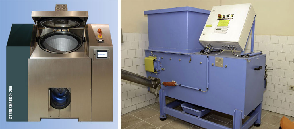 impianto di sterilizzazione in ambito ospedaliero
