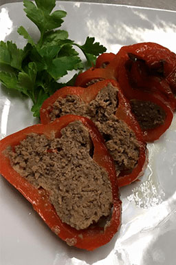 Specialità carne con contorno di verdure