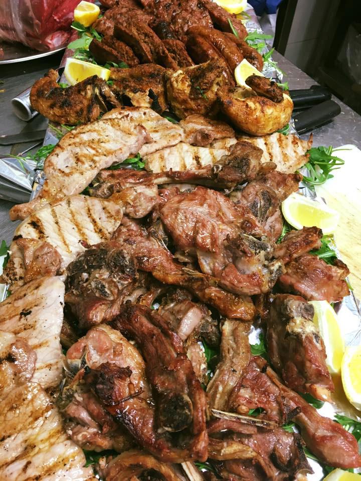 Piatti a base di carne grigliata