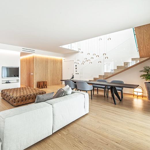 Vendita parquet e pavimenti in legno Dallavalle