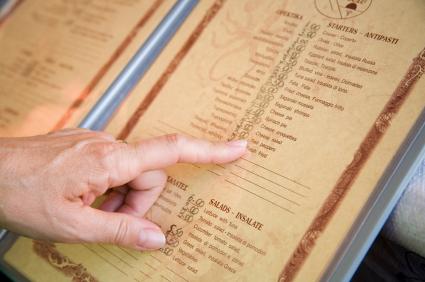 ristorante con menù degustazione Narni Terni