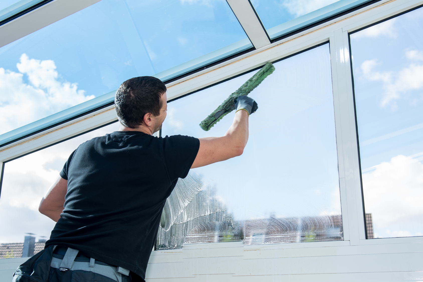 lavaggio vetrate bologna