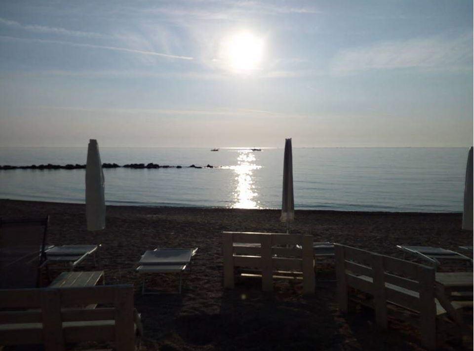 Gelateria in spiaggia Un Gelato da Mare