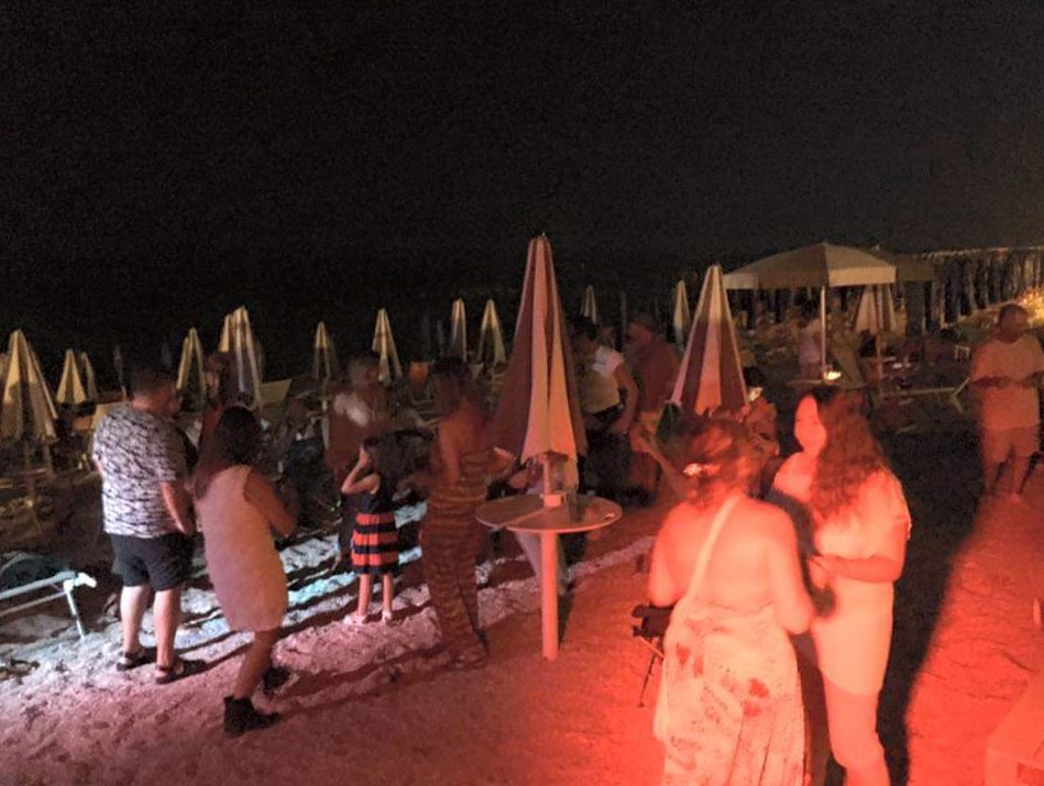 Discoteca in spiaggia