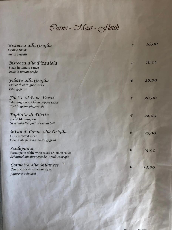 Specialità campane Ristorante Verginiello