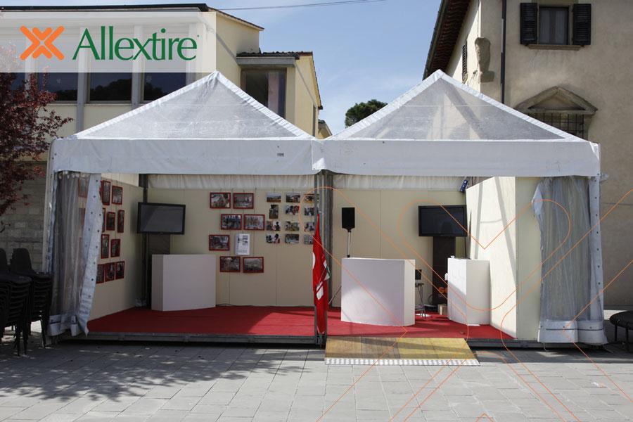 Azienda specializzata nel noleggio gazebo modulari