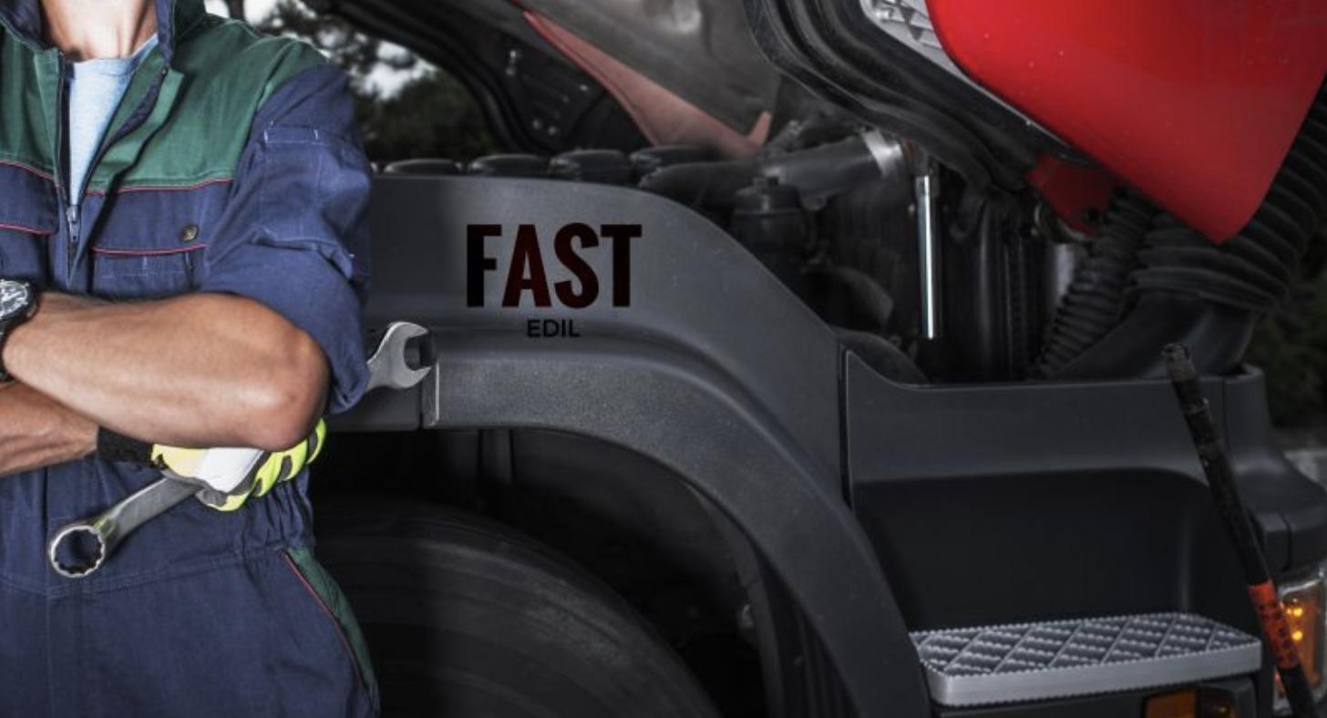 Officina mobile per macchine movimento terra Fast Edil