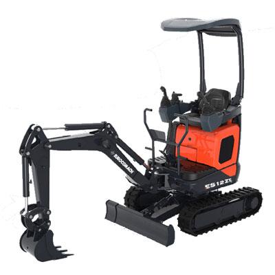 Mini escavatore Eurocomach ES 12 ZT  Fast Edil