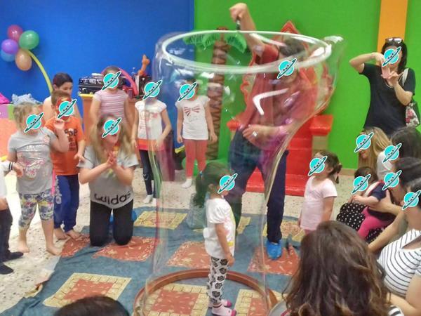 sala feste bambini gonfiabili sassari