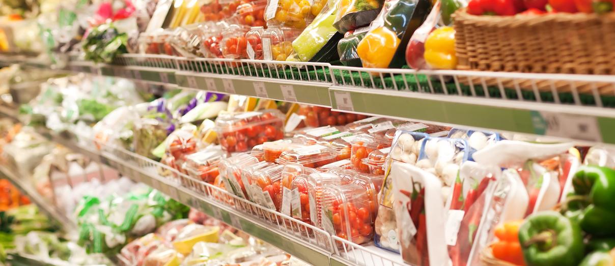 Coal Reparto frutta e verdura Supermercato Coal