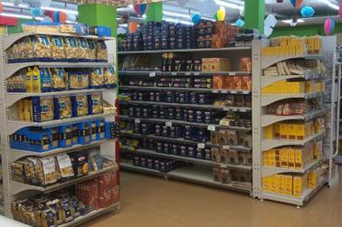 Reparto alimentari Supermercato Coal