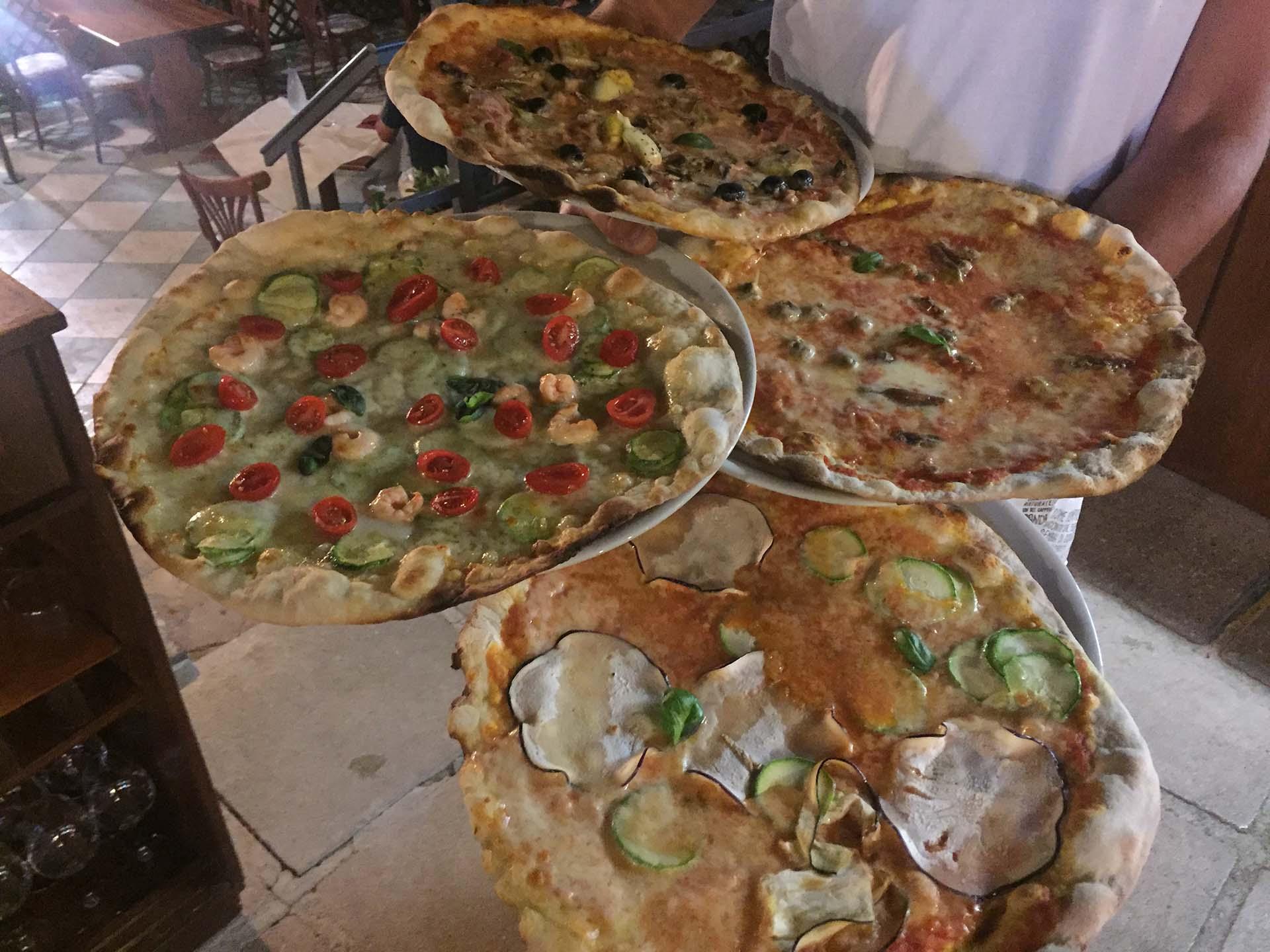 la Scaletta Pizze leggere e digeribili