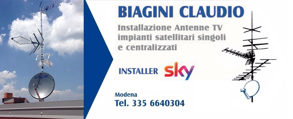Antenne TV terrestri e satellitari Biagini Claudio