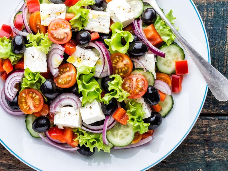 buffet di verdure ts