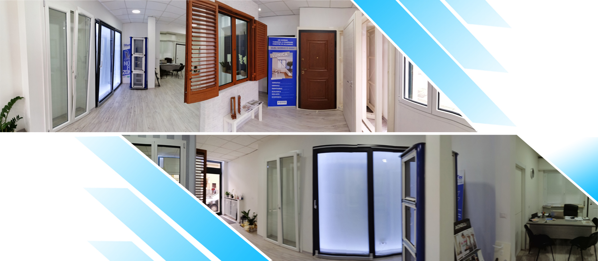Showroom infissi Novara