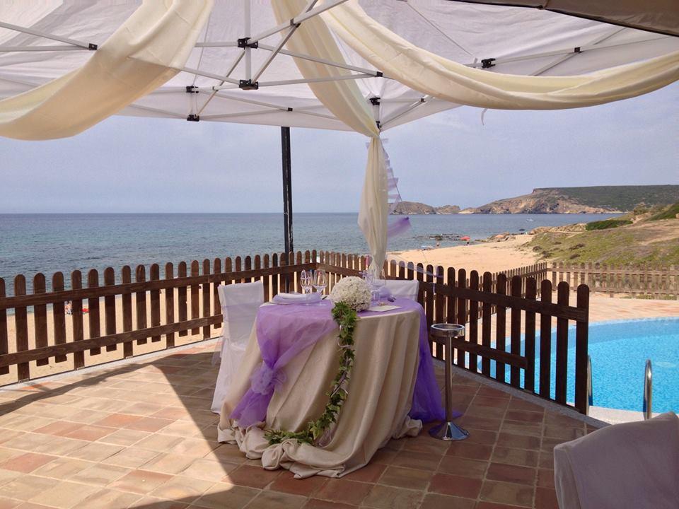 Location matrimoni, cerimonie ed eventi Pistis, Arbus, Medio Campidano, Sardegna - Ristorante pizzeria Front'e Mari