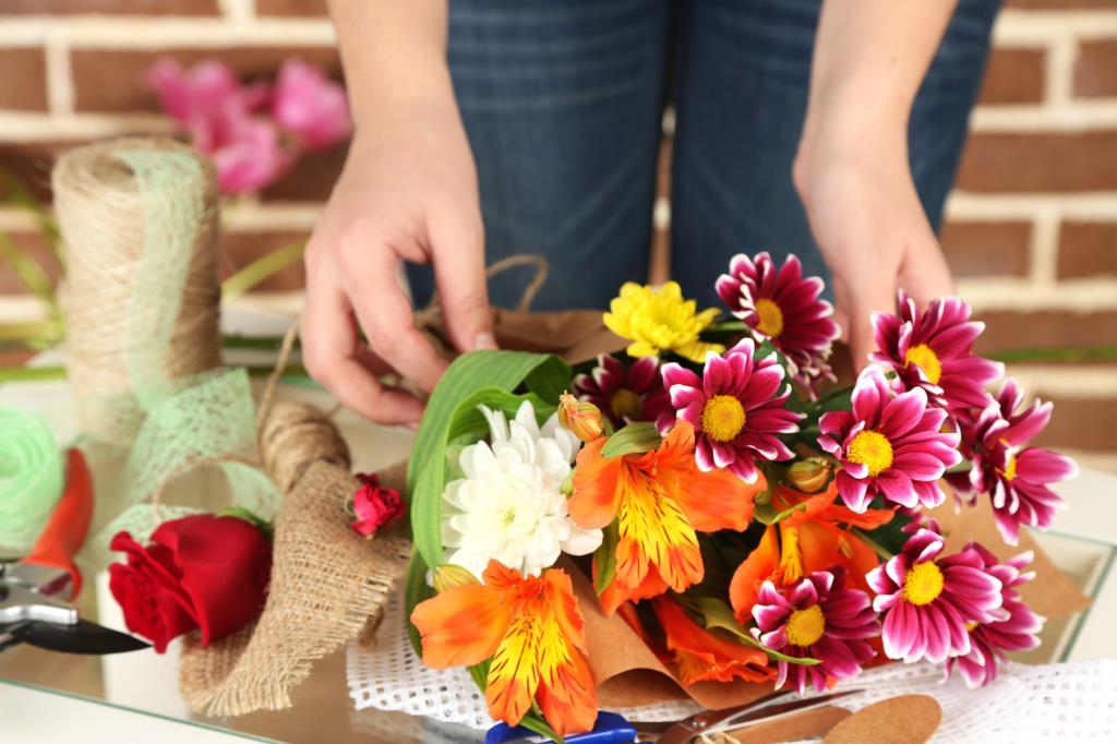 Composizione floreale per eventi speciali