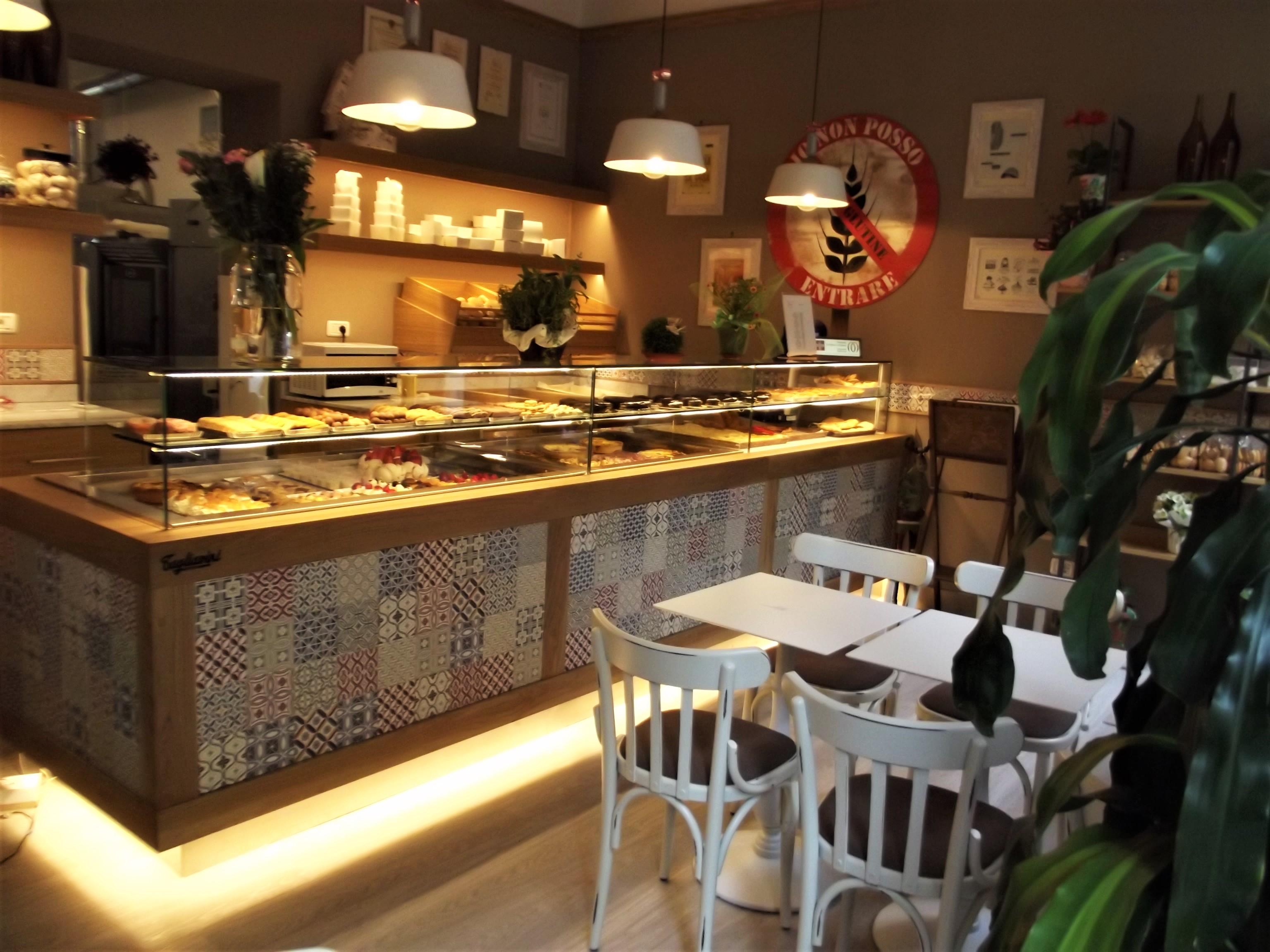 Locali della pasticceria senza glutine La Madia di Torino