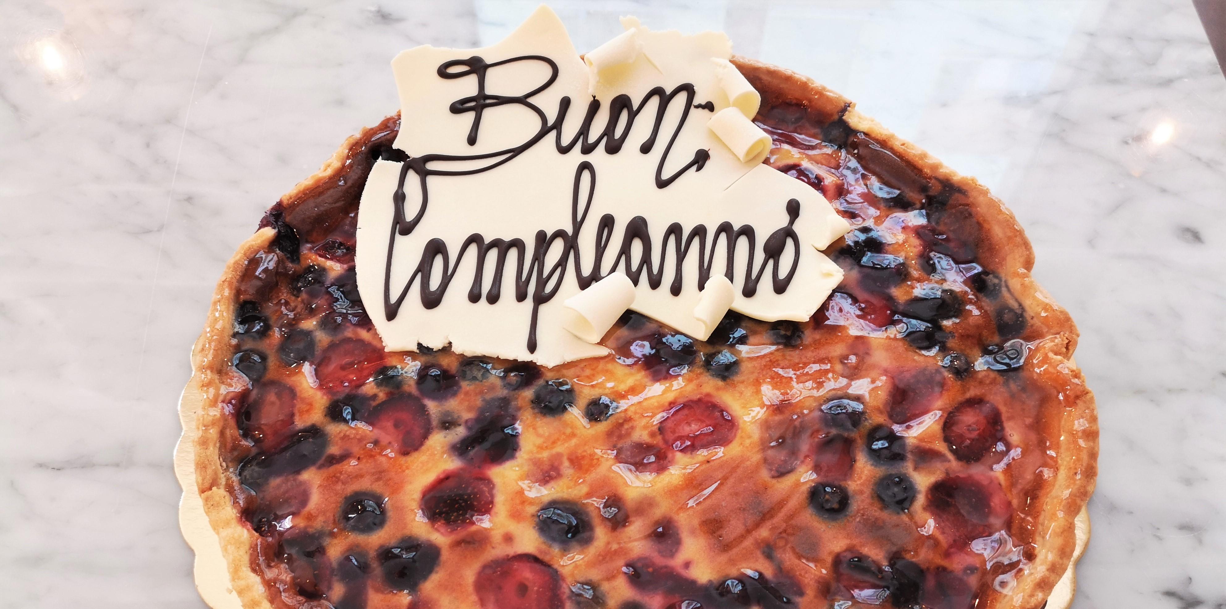 torta senza glutine a La Madia di Torino