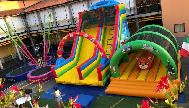 noleggio giochi per feste Bergamo
