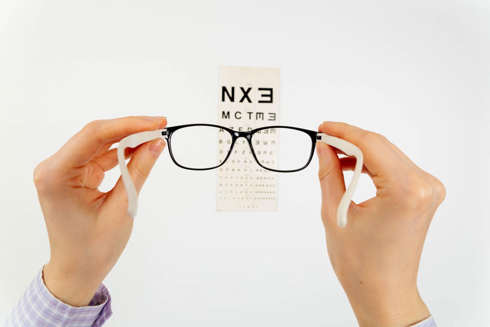 Vendita e riparazione montature  Occhi in Vista