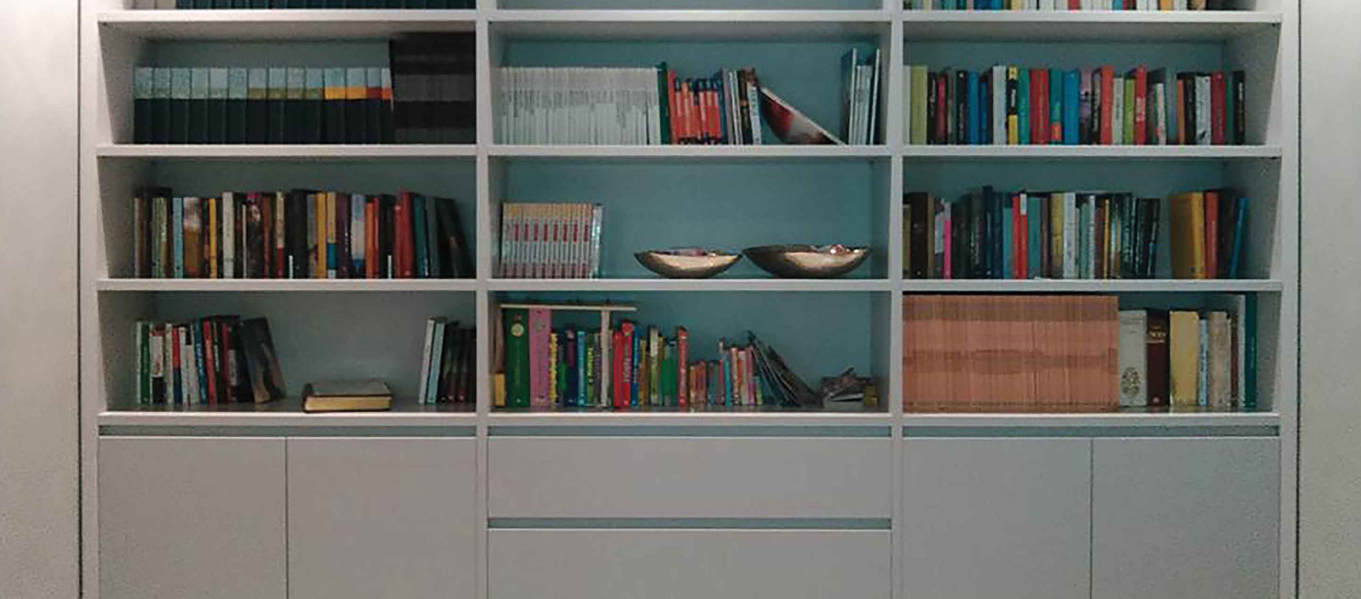 Libreria su misura Falegnameria Bottari Fabio