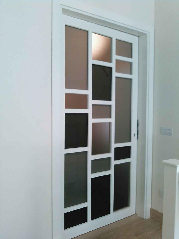 Porta da interno produzione artigianale Falegnameria Bottari Fabio