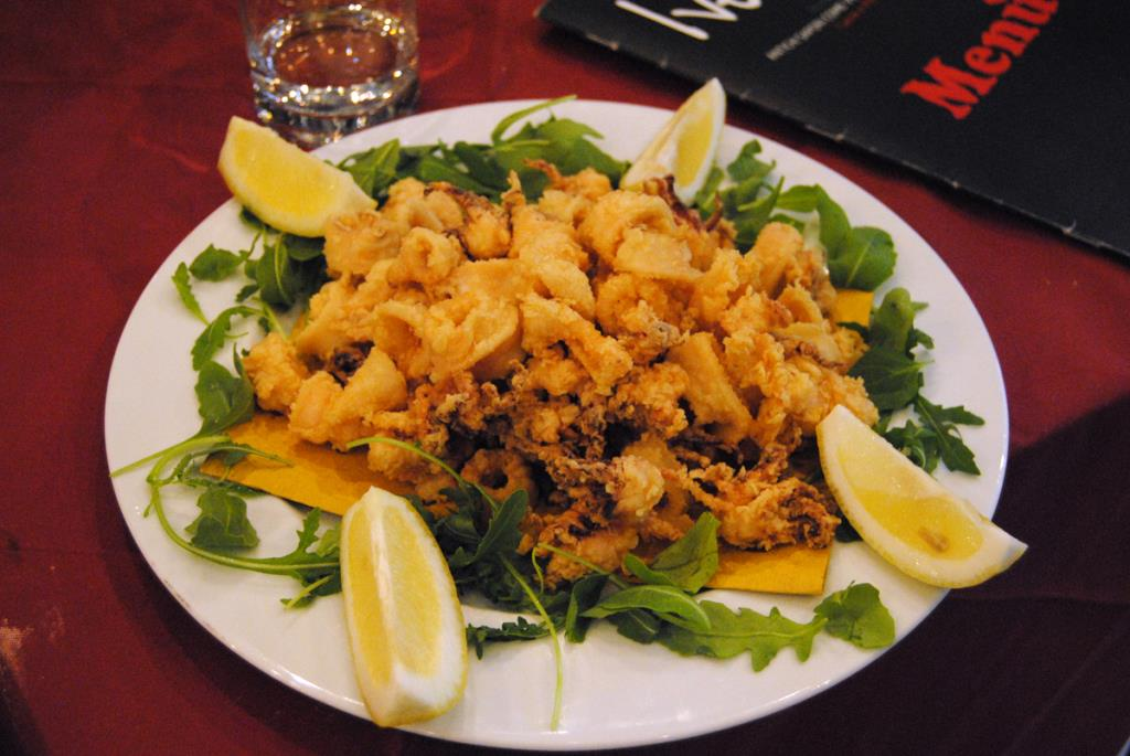 menu pesce roma ostiense