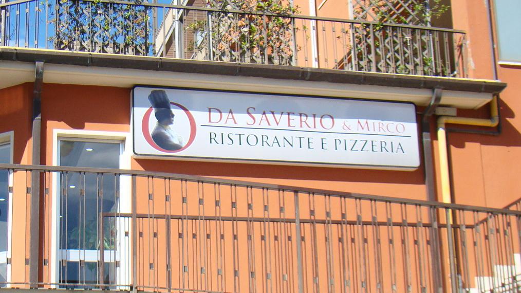 Pizzeria con forno a legna Ristorante Da Saverio