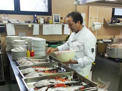 Piatti ittici Ristorante Da Saverio
