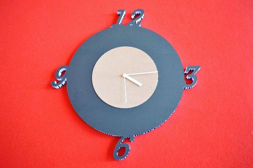 orologi da parete bicolore