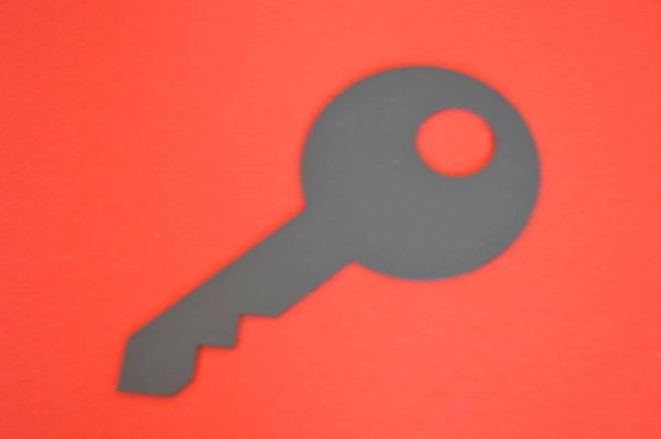 chiave sagomata