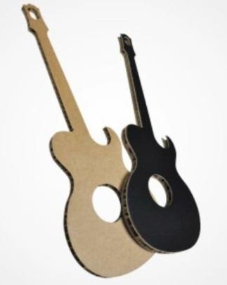 chitarre in cartone