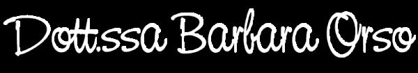Dott.ssa Barbara Orso