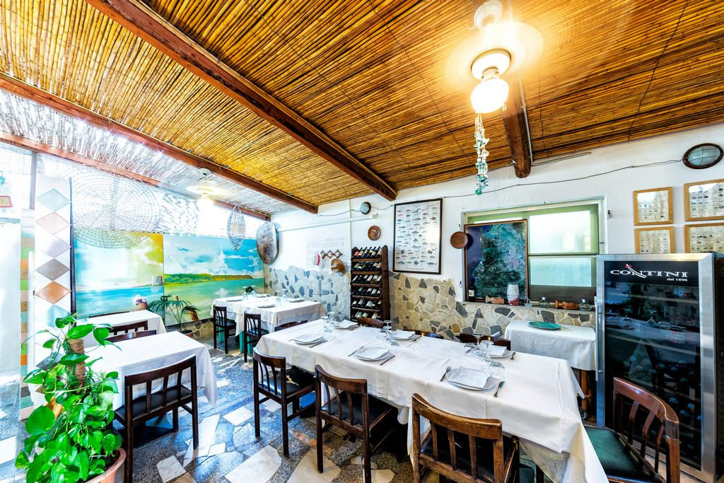 ristorante di pesce Marceddì