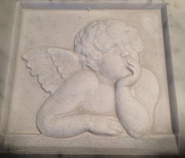 lavorazione marmo funerario