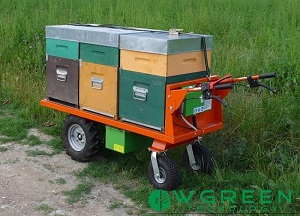 News: carriola a batteria per trasporto arnie